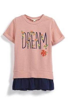 Tucker + Tate 'Dream' Ruffle Hem Top (Toddler Girls, Little Girls & Big Girls) available at #Nordstrom