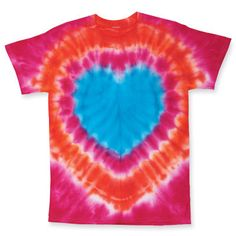 Never saw this tie die shape.. great instructions.    Good idea for when the kids need something to do!