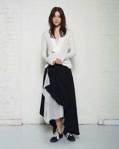 Yohji Yamamoto Draped Pants   La Garçonne