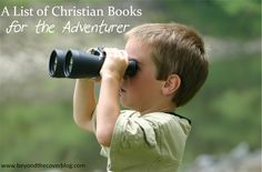 A List of Christian Books for the Adventurer | www.beyondthecoverblog.com