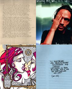 art. words. at it's finest through the mind of brandon boyd.