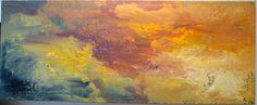 Sunset Acrylic on canvas 150cm x 60cm