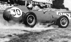 dbslrt:  Reims. Grand Prix de France 1959. Ferrari Dino 246, Jean Behra.