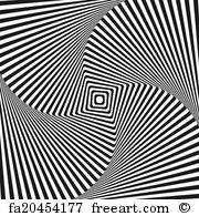 Spiral Illusion Design Pattern Art Print Home Decor Wall Art Poster