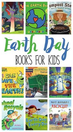 21 Inspiring Earth Day Books for Kids. Teach your kids to be eco-friendly and recycle.