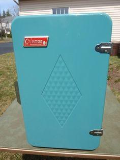 Color inspiration for the free Vintage Coleman Cooler we just scored :)