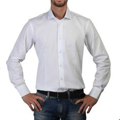 ROSSO FIORENTINO Man. Size 43. Overhemd, Shirt, Hemd, Chemise, Camisa, Camicia