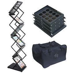 Noza Tec 6 Pockets Pop-Up Portable Literature Rack Magazine Holder Metal Frame With Carrying Bag - Black Noza Tec http://www.amazon.com/dp/B019Z0FM2Q/ref=cm_sw_r_pi_dp_KVGexb0YT5NF7