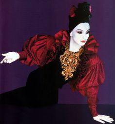 Shiseido, Elle magazine, November 1985.