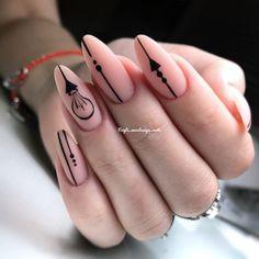 18 Ways to Wear Gradient Nails & Rainbow Nails Spring 2019 Fancy Nails, Diy Nails, Pretty Nails, Nude Nails, Black Nails, Acrylic Nails, Gradient Nails, French Manicure Designs, Nail Art Designs