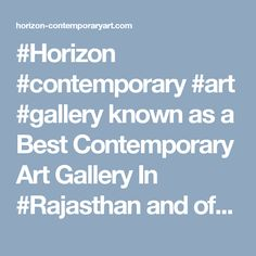 #Horizon #contemporary #art #gallery