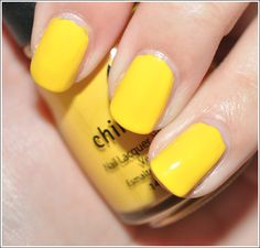 China Glaze- Happy Go Lucky. I dont have a yellow yet...