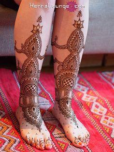 Gladiator style henna feet - via www.flickr.com/photos/hennalounge