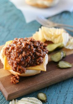 Light Sloppy Joes - The Country Contessa