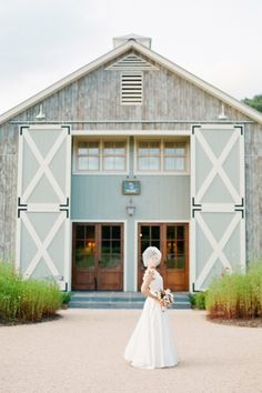 Barn doors at Pippin Hill here in Cville. Gorgeous!