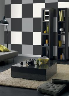 Cube wallpaper from Caselio