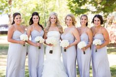Pale Lavender Bridesmaids Dresses   photography by http://www.jyweddings.com