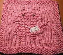 Bandaged Boo Dishcloth Pattern