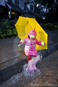 "memoirs - I remember doing this as a kid, trying to imitate Gene Kelley's routine  from ""Singing in the Rain.""  Broke SO many umbrellas when I was a kid."