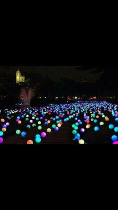 Summer party idea: put glow sticks in balloons and scatter them in the yard Repins or Likes would be awesome. Don't forget to listen to my music on youtube :) Thank you