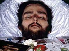 Hunger striker and INLA volunteer Patsy O'Hara. On Thursday, 21 May, at 11.29 p.m., he died after 61 days on hunger strike at the age of 23. In accordance with his wishes, his parents did not get him the medical intervention needed to save his life.. ***___*** http://www.hungerstrikes.org/funerals/ohara_funeral03.jpg