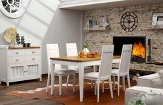 Disfruta de tu familia con el mejor diseño. #comedor #decoración #muebles #diseño #style #estilo #hogar #home #Galicia #mueblebar