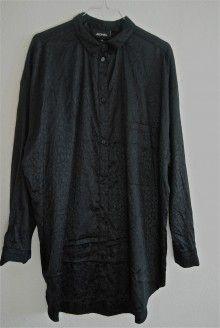 Monki skjorte/kjole med sort leopardmønster