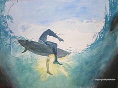 surfing painting - Google Search
