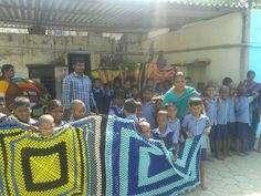 Blankets being donated