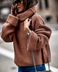 mode chic Fashion Look Featuring Free People Sweaters and AG Jeans Women's Fashion by MiaMiaMine - ShopStyle Fashion Mode, Fashion 2018, Look Fashion, Winter Fashion, Fashion Trends, Street Fashion, Fashion Sites, Fashion Outfits, Trendy Fashion