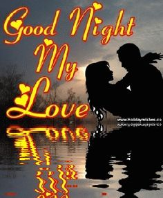Love Holidays, Husband Love, My Favorite Image, Good Night, Bing Images, Neon Signs, My Love, Couples, Movie Posters