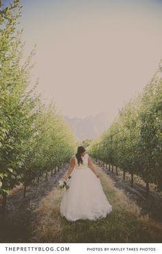 Matthew & Brittney's Blissful Summer Soiree | Real weddings | The Pretty Blog