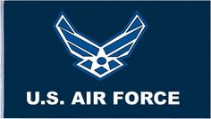 3' X 5' U.S. Air Force Flag - US Air Force Pole Flags - Decorative Military