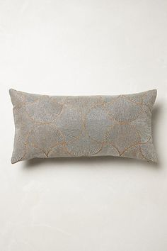 Shimmer Swept Pillow #anthropologie