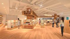 TSUTAYA EBISUBASHI 施設内イメージ