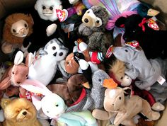 Check out Beanie Babies from Totally Awesome 90's Tech Toys