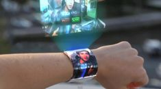 Holographic Displays / new iWatch-Concept