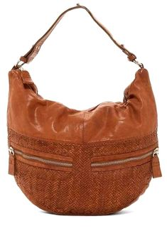 35b3baea611c Liebeskind Berlin Multi Pocket Woven  Leather Hobo Bag  hobobags  leather  hobo bag
