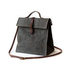 766bbdf10e09 Uashmama Lunch Bag Dark Grey - The Future Kept - 1 Mens Lunch Bag