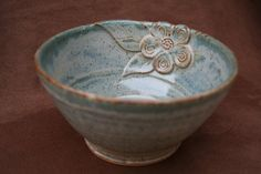 Ceramic Pottery Soup or Cereal Bowl