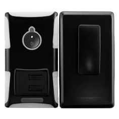 Insten Advanced Armor Dual Layer Hybrid Stand Rubberized Hard PC/ Silicone Holster Phone Case Cover For Nokia Lumia 830 #2011878