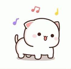 Cute Cartoon Pictures, Cute Love Cartoons, Cute Images, Pastel Iphone Wallpaper, Cute Emoji Wallpaper, Cute Bear Drawings, Cute Cartoon Drawings, Cute Love Gif, Cute Cat Gif