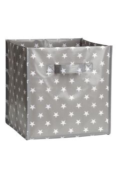 Folding storage box with handles on the sides. Size 28x28x28 cm.