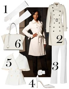 Chic Office Fashion - Office Wear Inspired by TV Characters - Marie Claire