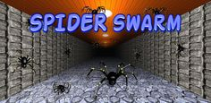 New promo pic for Spider Swarm in Google Play. Google Play, Spider, Neon Signs, Spiders