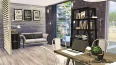 Ruby's Home Design: Sims4 Container Coffee Shop