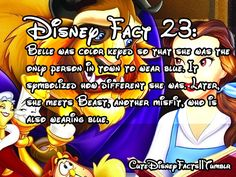 Cute Disney Facts