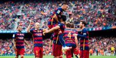 Nogometaši Barcelone odbranili su naslov prvaka Španije, nakon što su u gostima pobijedili ekipu Granade sa 3:0 i tako sačuvali bod prednosti pr...