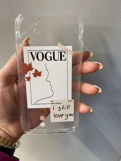 #Vogue #Fashion #Label #iPhone_Cases #Phone_Cover #iPhone11Cases #iPhone11ProMax #iPhone12Case #iPhone12ProMax #Magazine #Label #Design #Gifts_Idea Iphone 7 Plus, Iphone 11, Objet Wtf, Silicone Iphone Cases, I Still Love You, Mobile Covers, Vogue Fashion, Material Girls, Bullshit