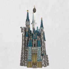 Disney Cinderella's Castle Metal Hallmark Ornament 2018